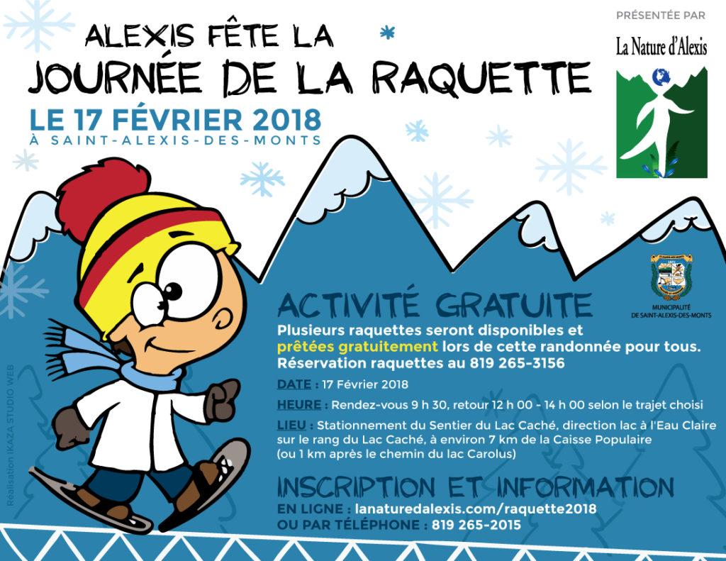 Journée de la raquette 2018 - Saint-Alexis-des-Monts