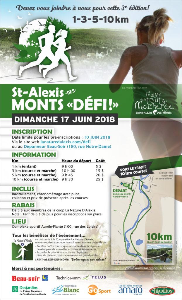 Course mon défi Saint-Alexis-des-Monts