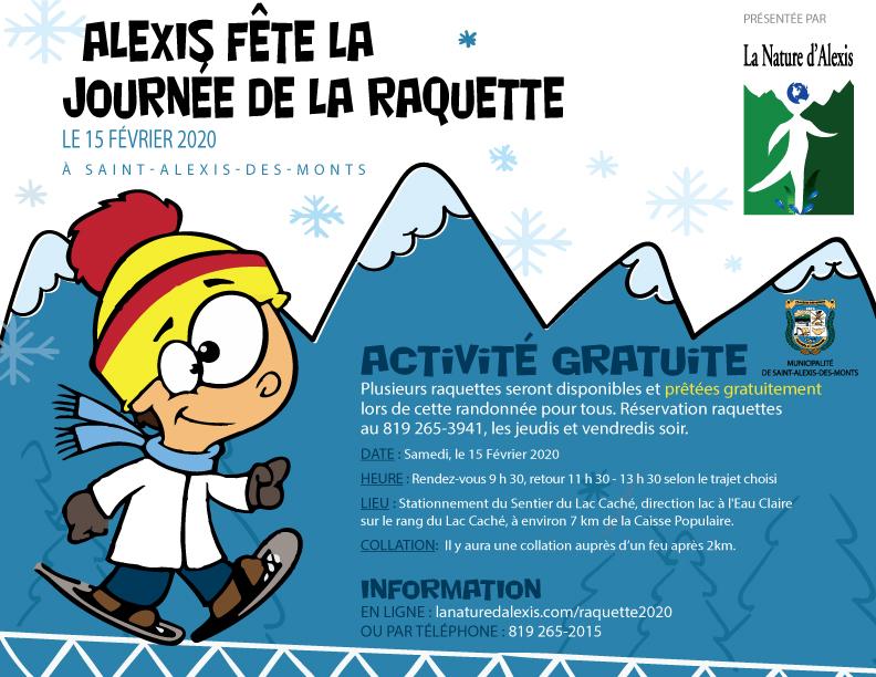 Journée de la raquette 2020 - Saint-Alexis-des-Monts